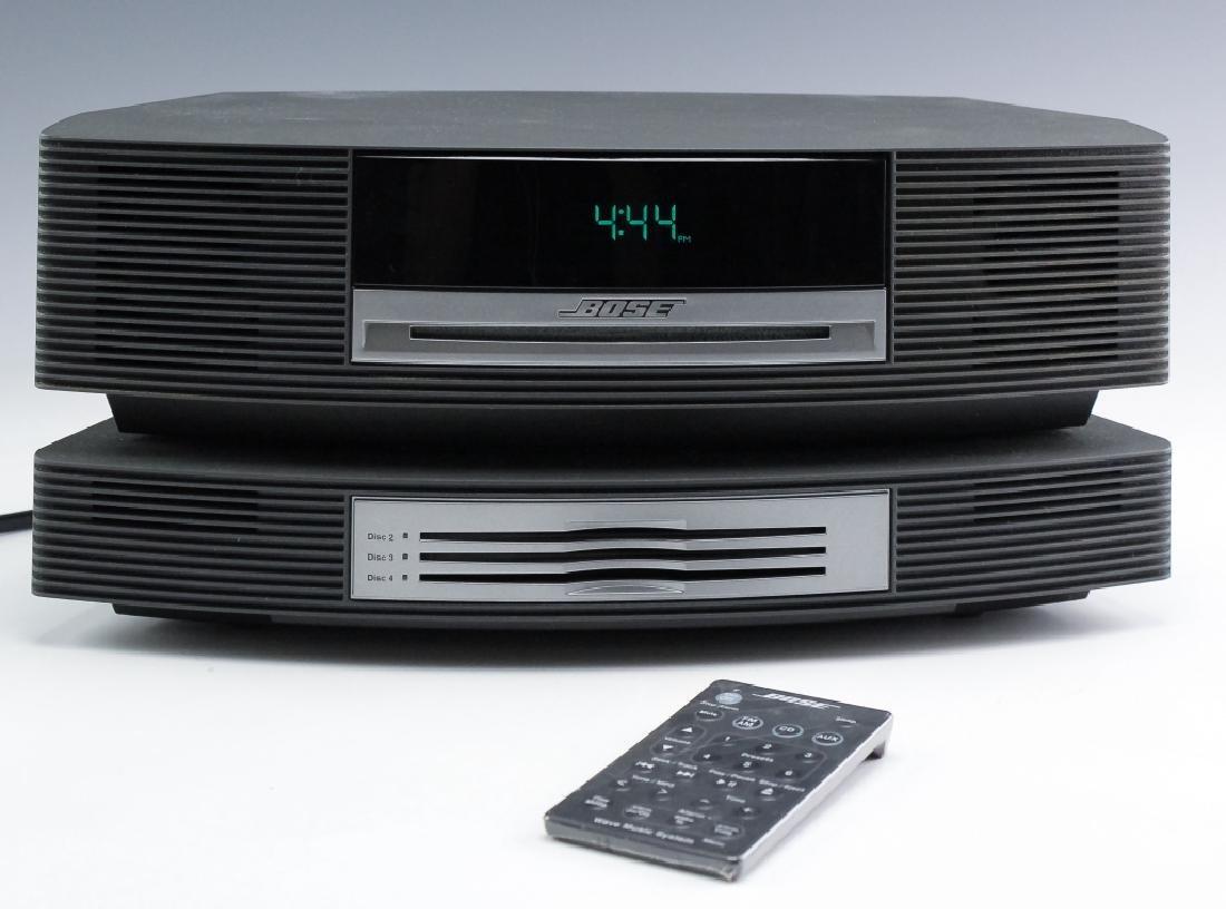 Bose Wave Music System AM/FM CD Radio AW1CCR BLACK