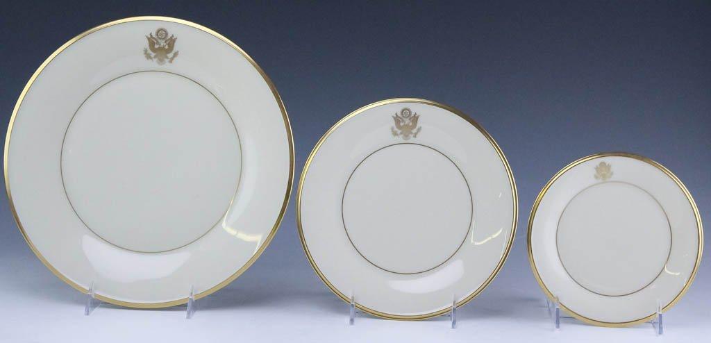 Lenox Congressional Dinner Salad Bread Plates Set - 2