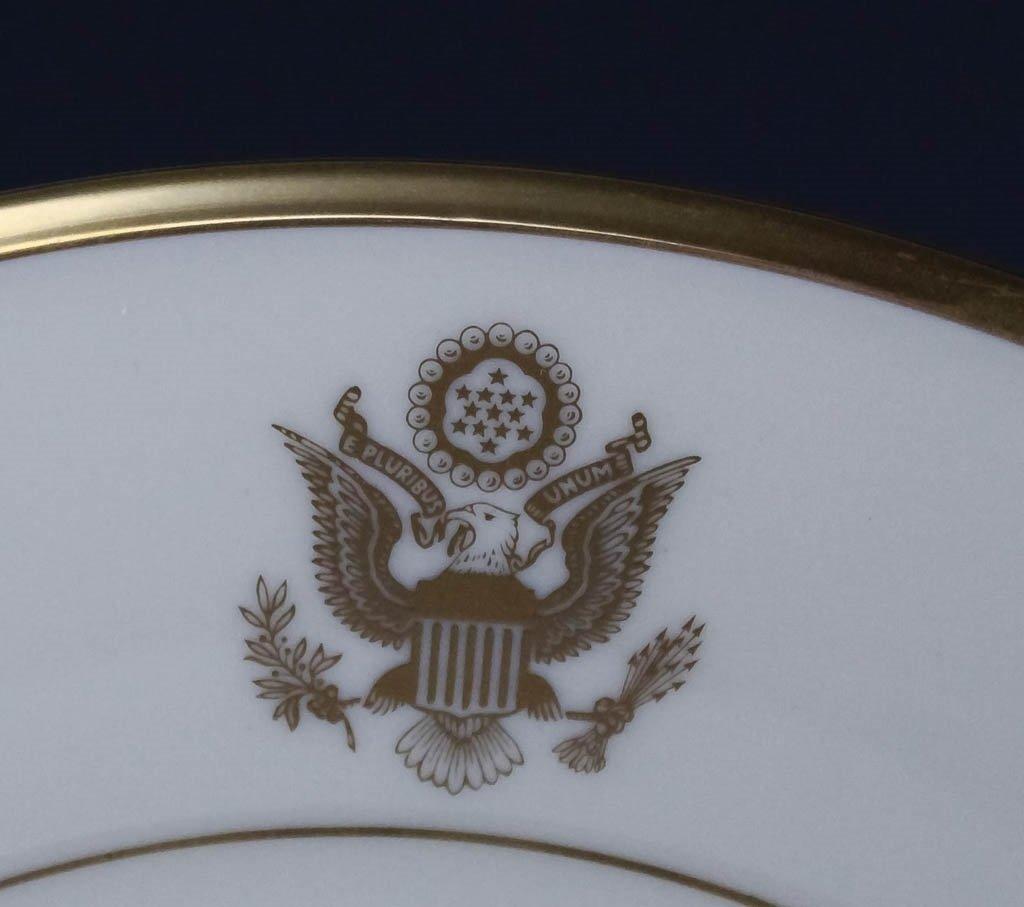 Lenox Congressional Dinner Salad Bread Plates Set - 9