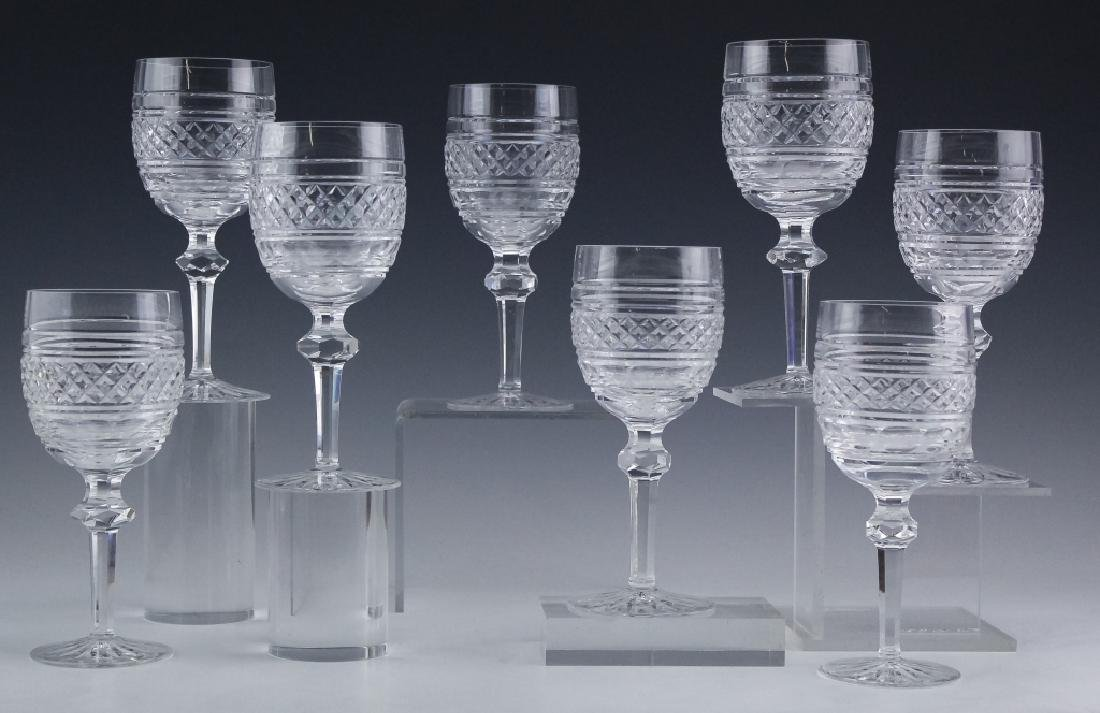 8 Waterford Crystal Castletown Water Goblet Glass