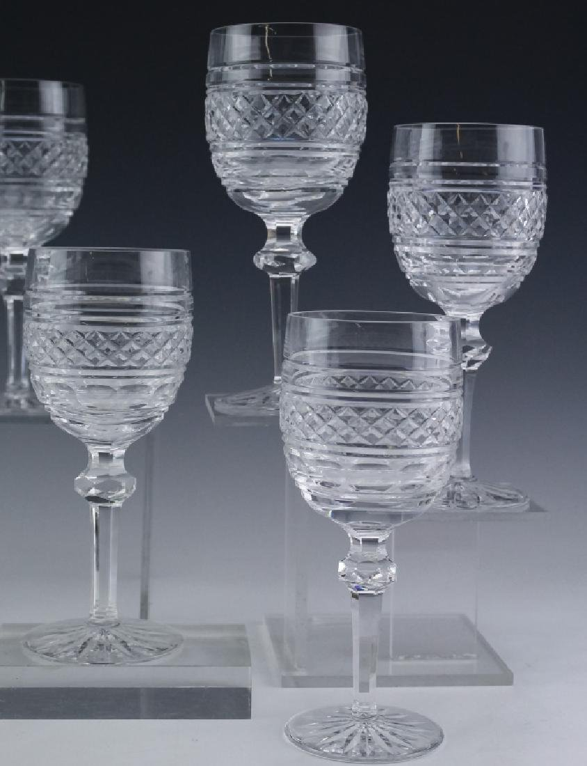 8 Waterford Crystal Castletown Water Goblet Glass - 3