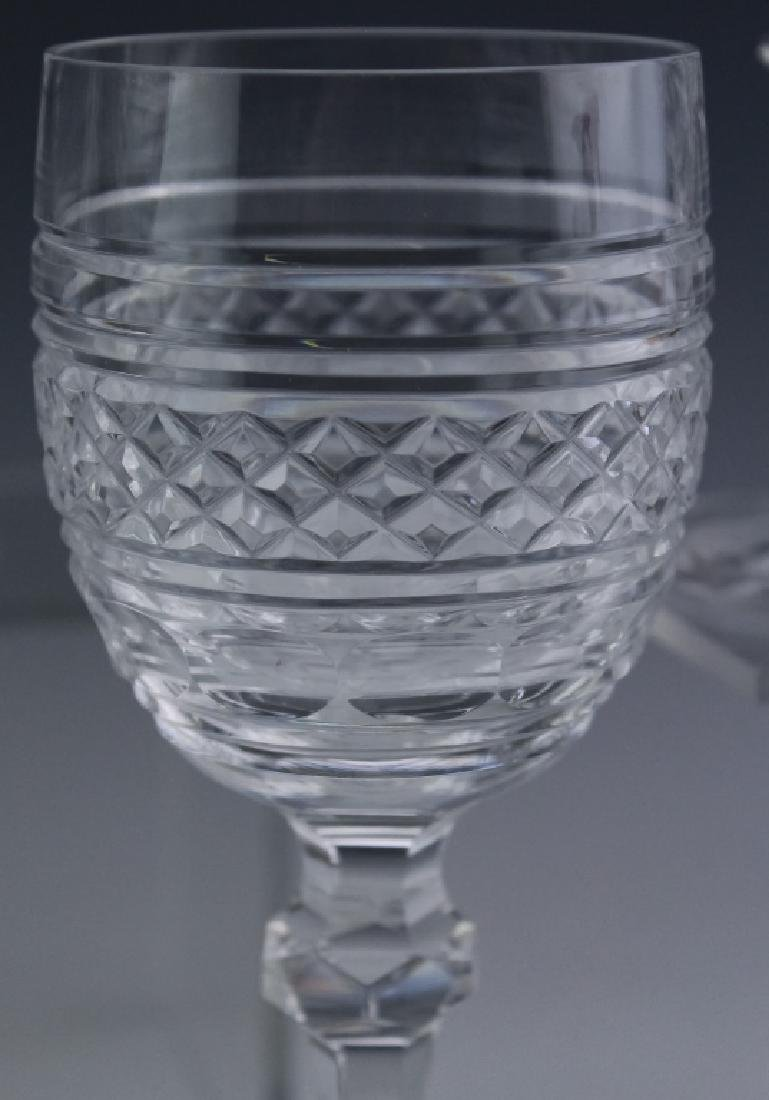 8 Waterford Crystal Castletown Water Goblet Glass - 4