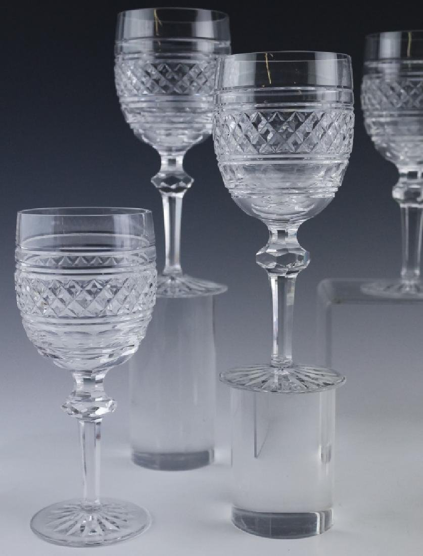 8 Waterford Crystal Castletown Water Goblet Glass - 5