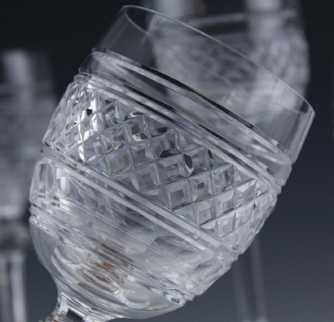 8 Waterford Crystal Castletown Water Goblet Glass - 7