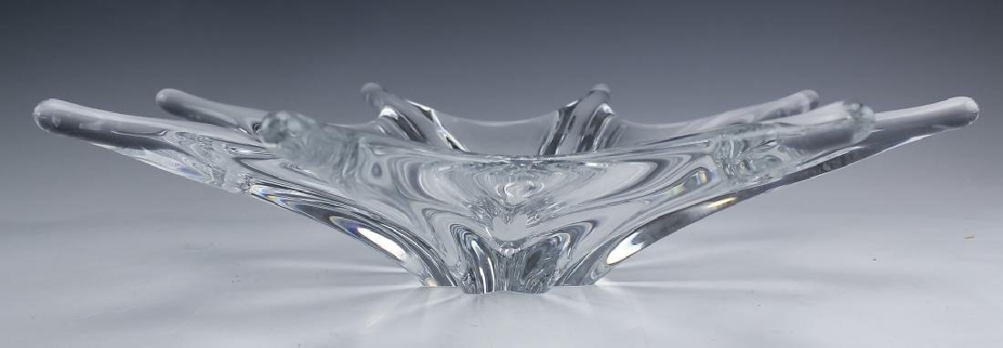 Baccarat French Crystal Octopus Centerpiece Bowl - 3