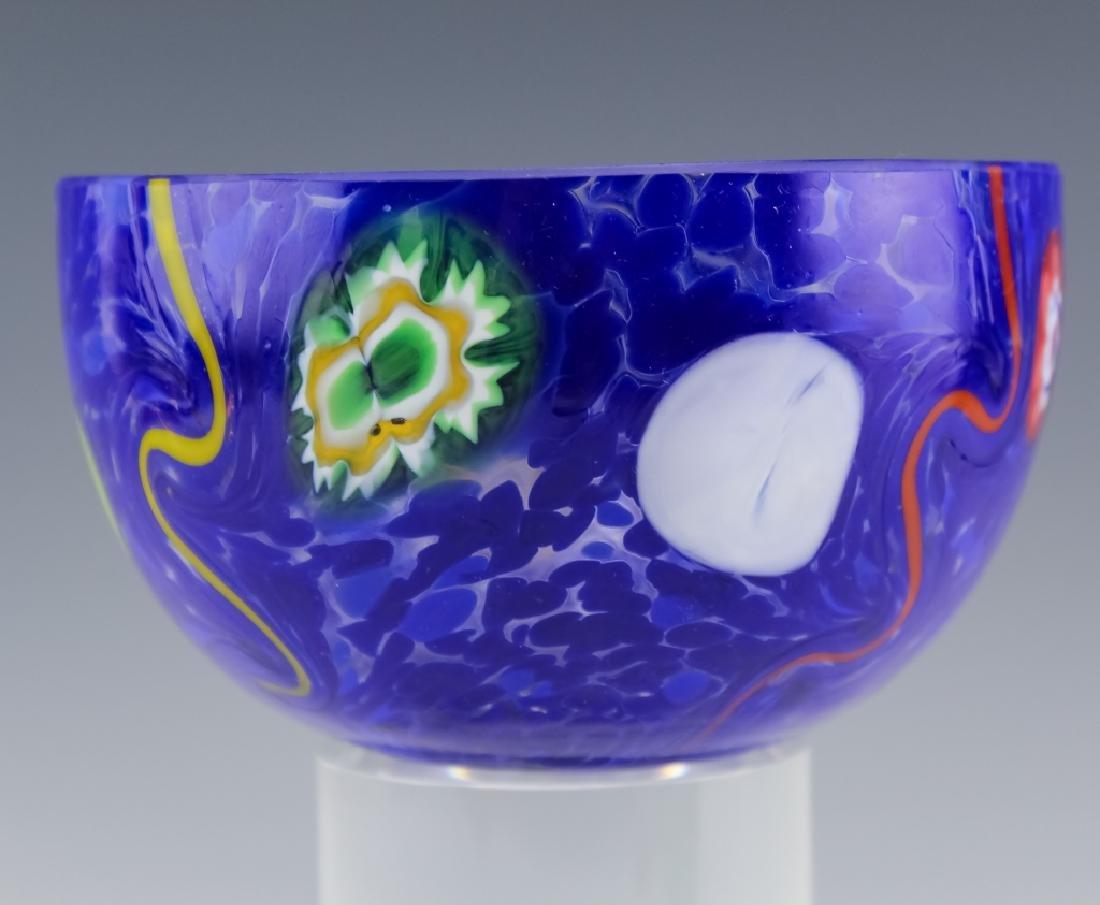 Murano Studio Art Glass (2 ) Artist Signed Bowls - 2
