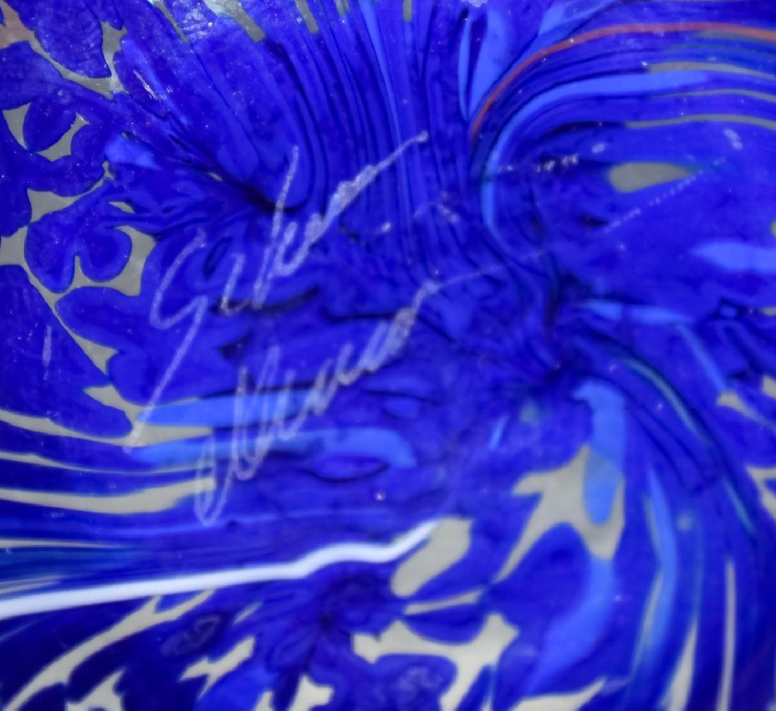 Murano Studio Art Glass (2 ) Artist Signed Bowls - 4