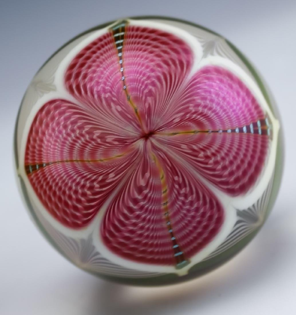 Stuart Ableman Studio Art Glass Bear & Paperweight - 6