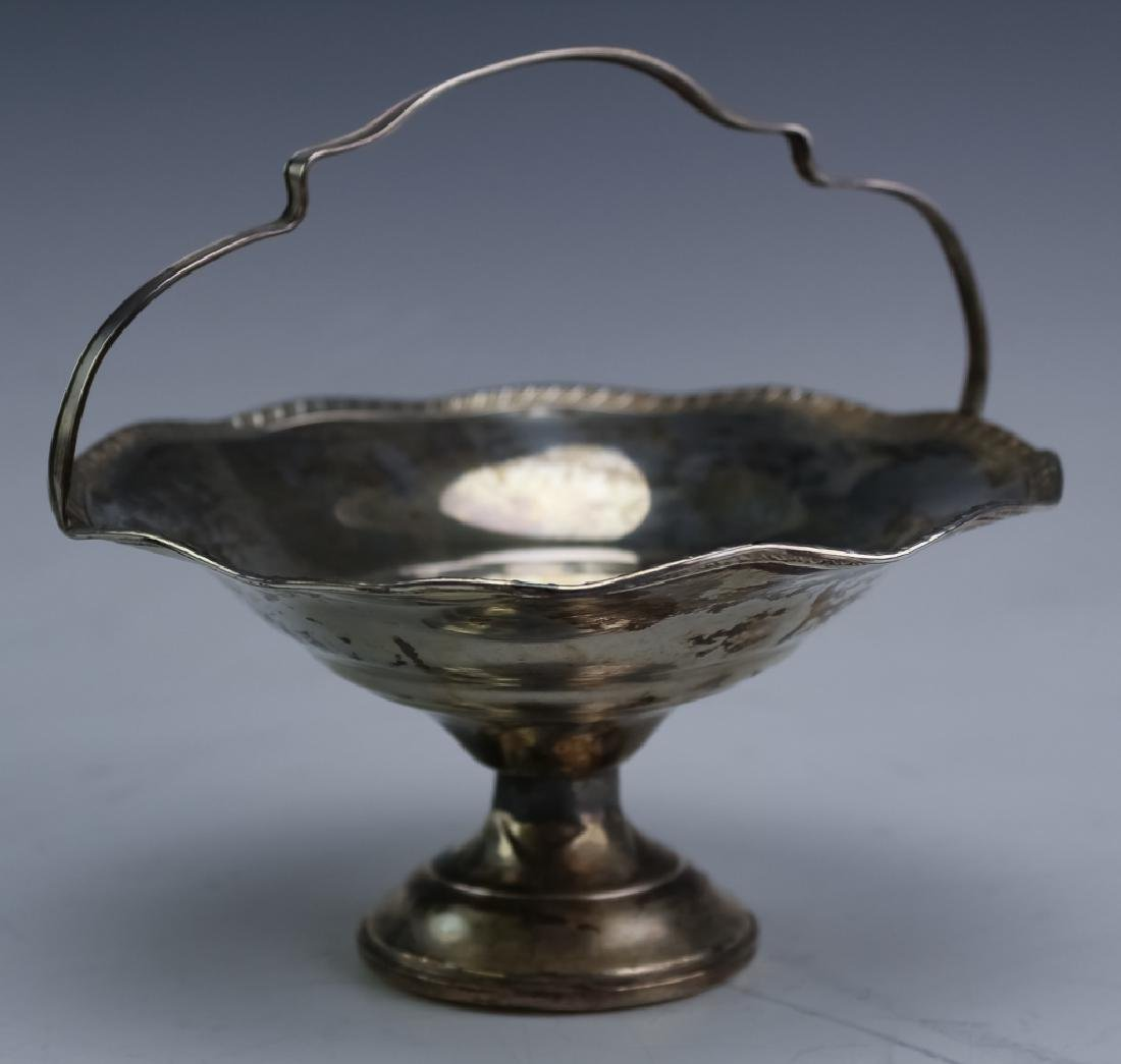 Mixed Estate Lot Sterling Silver Compote Bowl Vase - 4