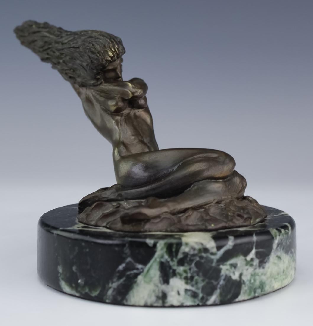 Tom Bennett Female Nude Bronze LE Art Sculpture