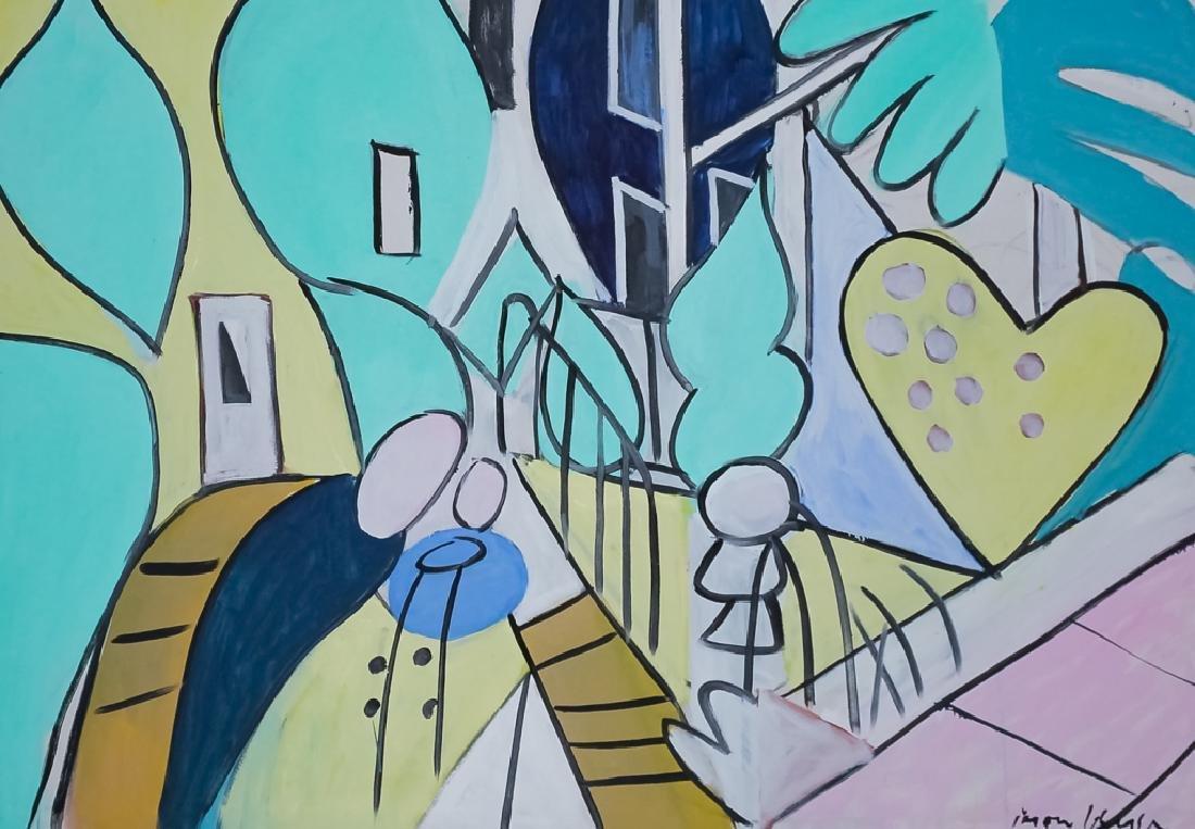Jason Berger (1924-2010) American Oil Art Painting - 5
