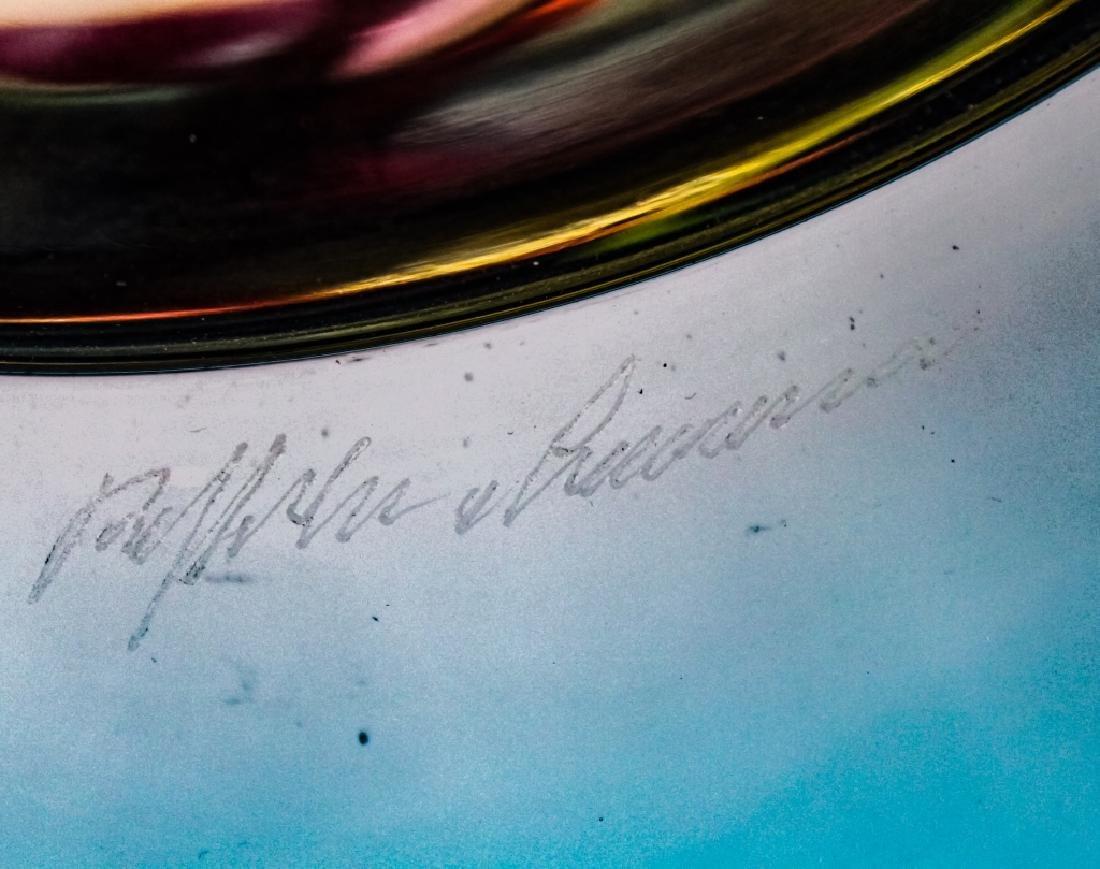 Raffaeli & Cammozzo Murano Glass Disk Sculpture - 5