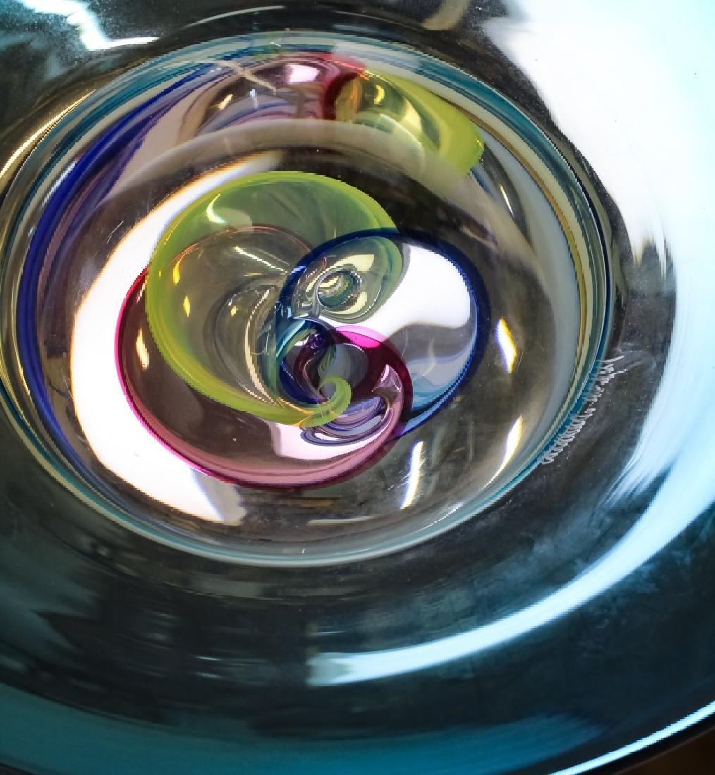 Raffaeli & Cammozzo Murano Glass Disk Sculpture - 7