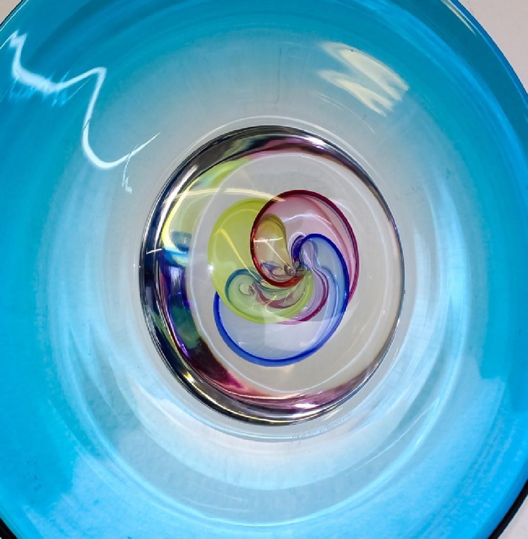Raffaeli & Cammozzo Murano Glass Disk Sculpture - 8