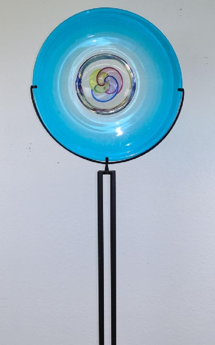 Raffaeli & Cammozzo Murano Glass Disk Sculpture - 9
