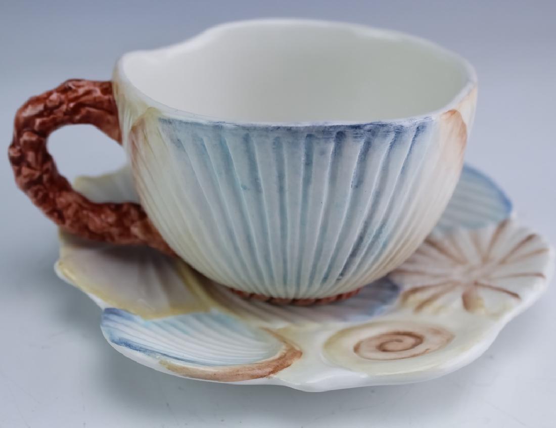 36 PC MARIPOSA Italian Porcelain Cups Saucers Bowl - 5