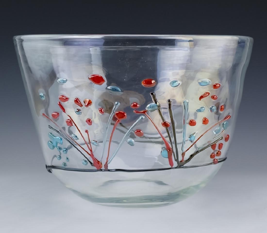 Licio Zanetti Murano Art Glass Gondoliere Vase BIG - 3