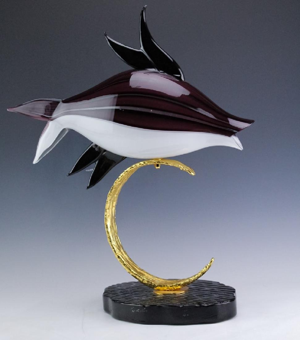PR Lucio Zanetti Murano Glass Art Fish Sculptures - 6
