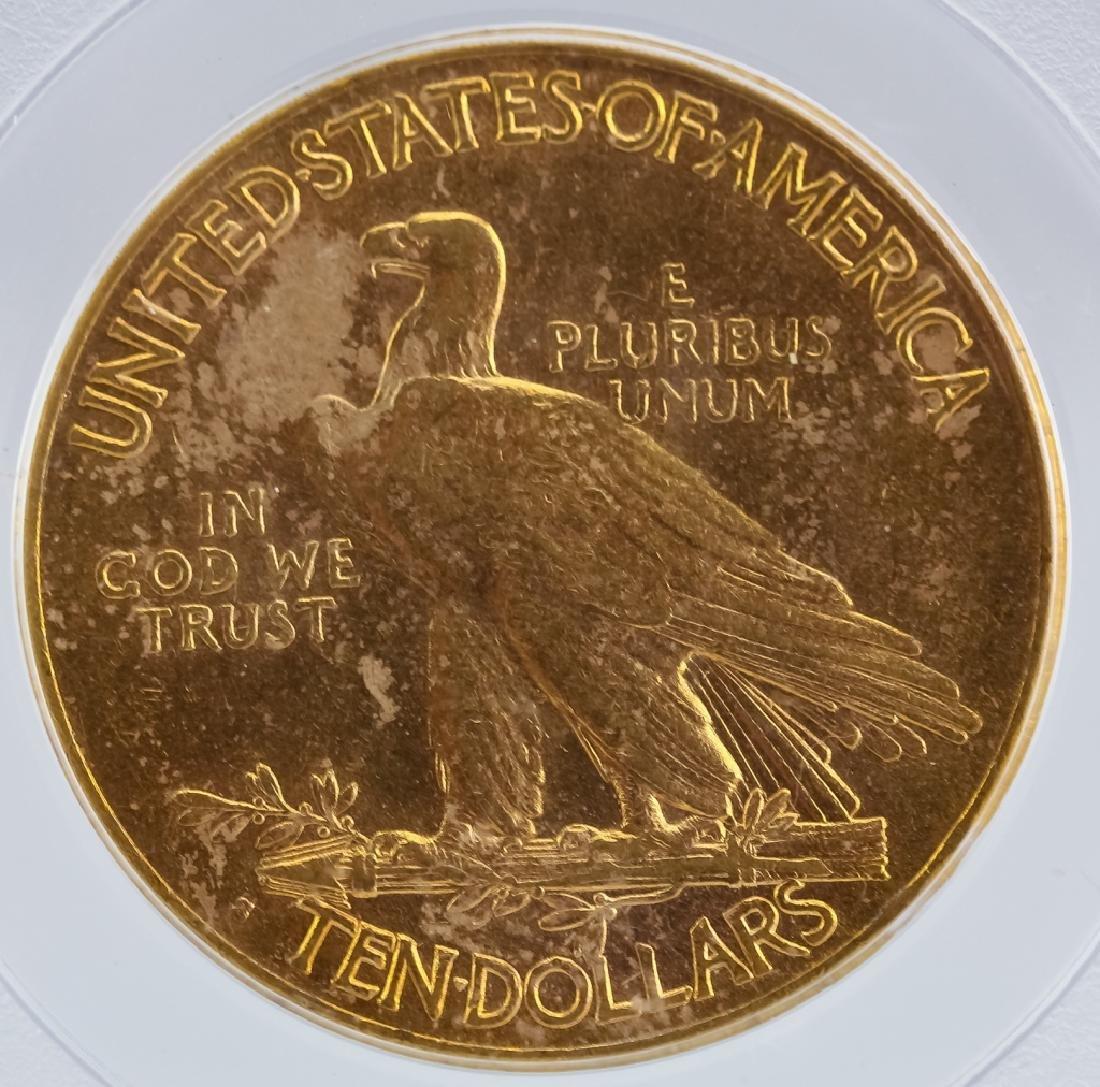 1915 S PCGS AU58 $10 Gold Indian Eagle US Coin - 4