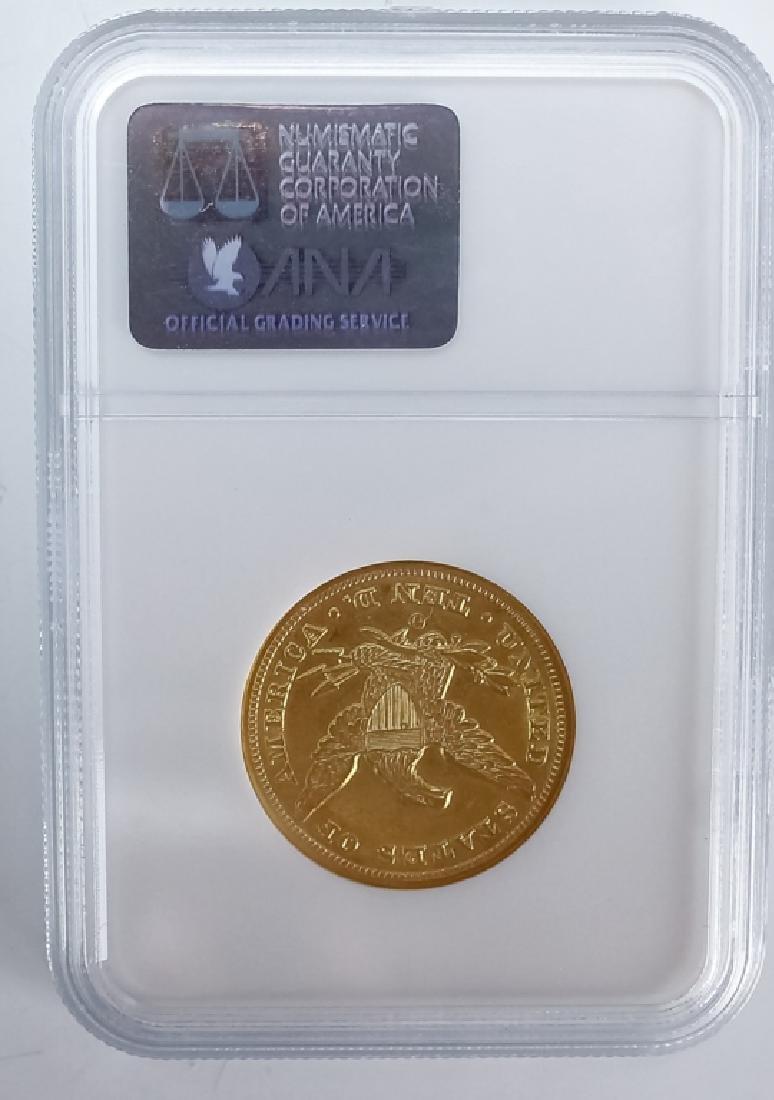 1853 O NGC AU58 $10 Gold American Eagle Coin - 3