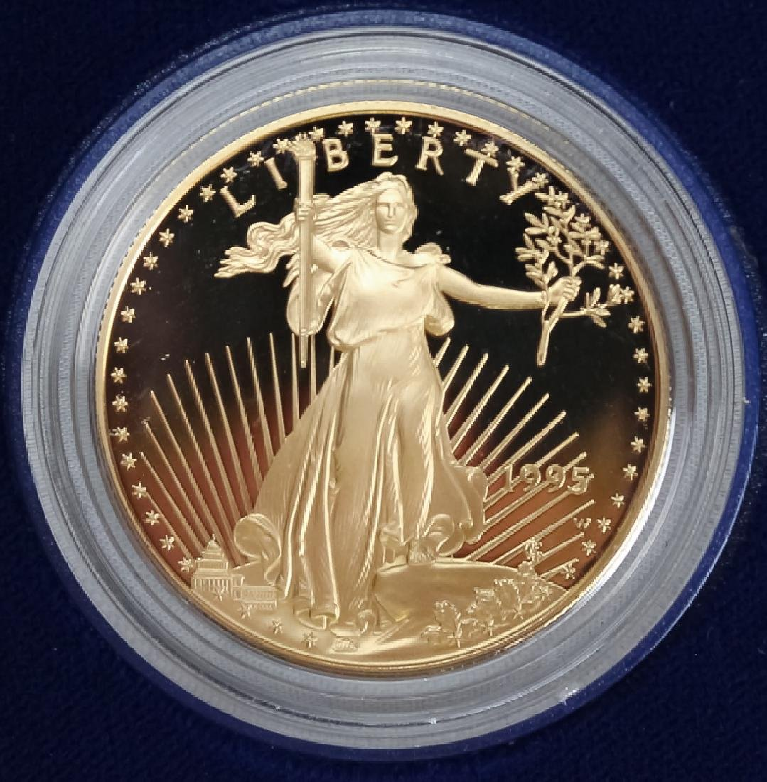 1995 1oz $50 Proof Gold American US Eagle Coin