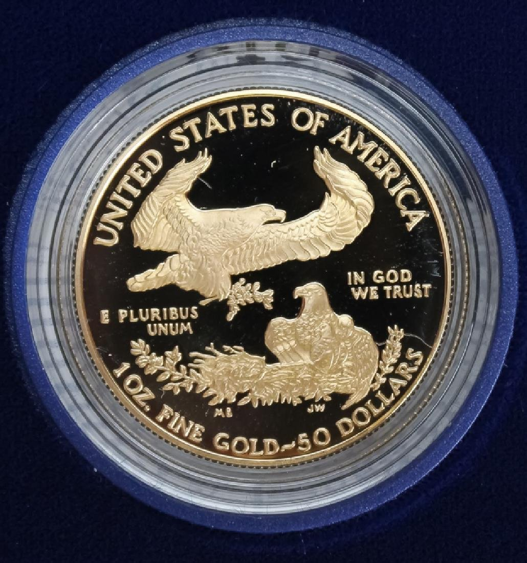 1995 1oz $50 Proof Gold American US Eagle Coin - 3