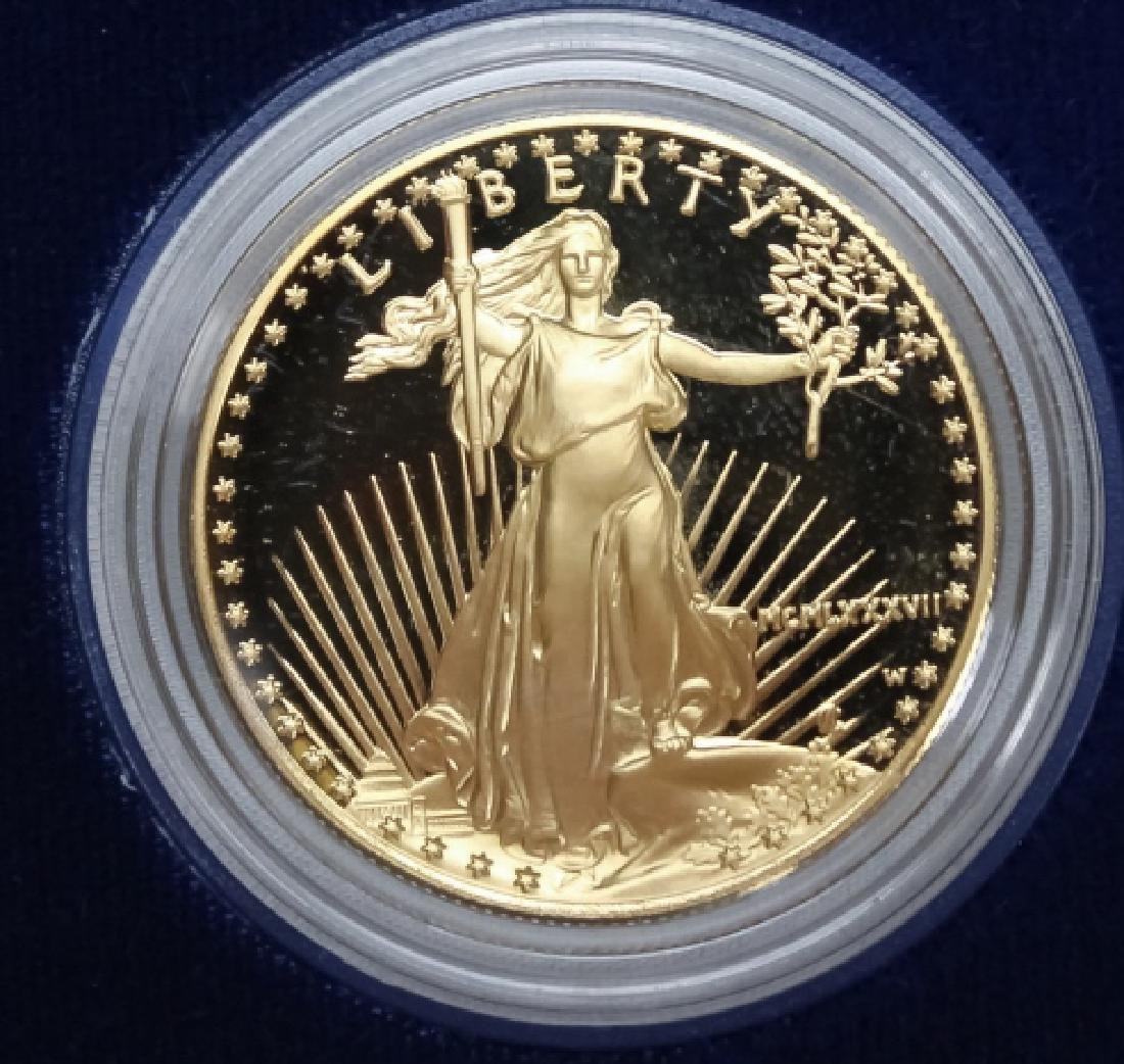1998 1oz $50 Proof Gold American US Eagle Coin