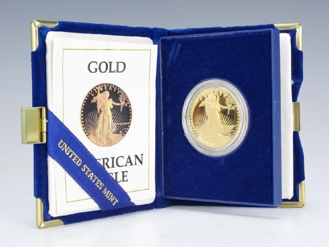 1998 1oz $50 Proof Gold American US Eagle Coin - 2