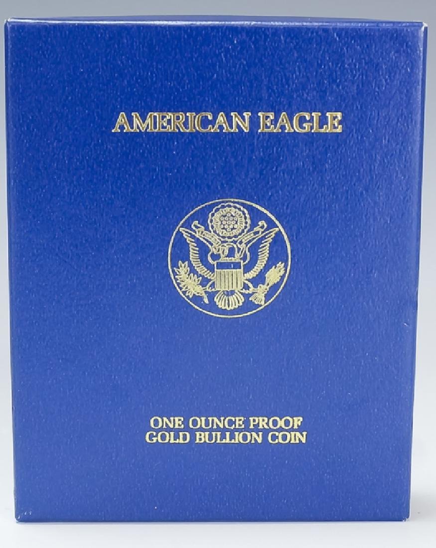 1999 1oz $50 Proof Gold American US Eagle Coin - 3
