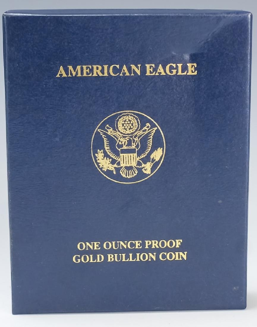 2005 1oz $50 Proof Gold American US Eagle Coin - 4