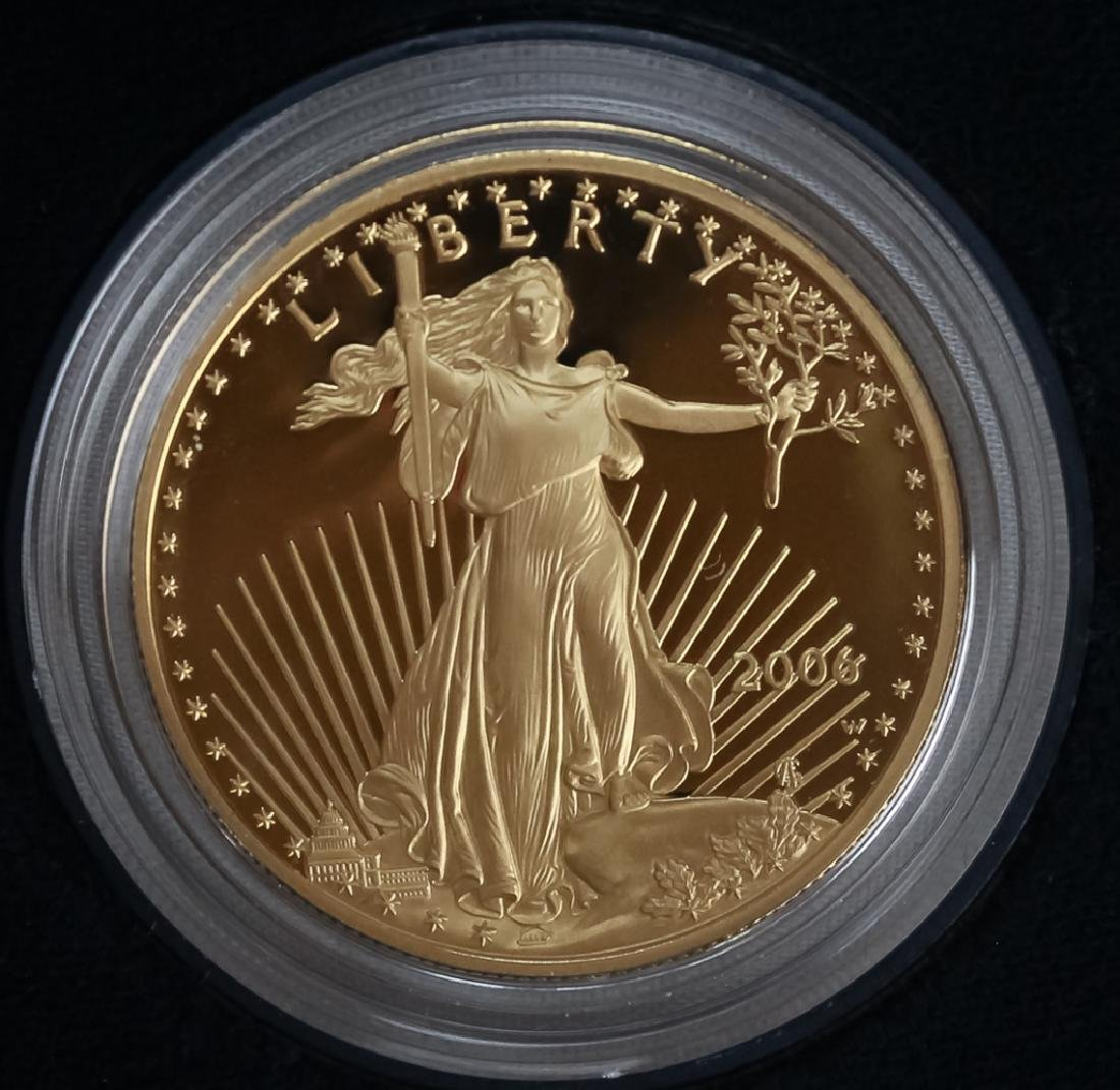 2006 1oz $50 Proof Gold American US Eagle Coin