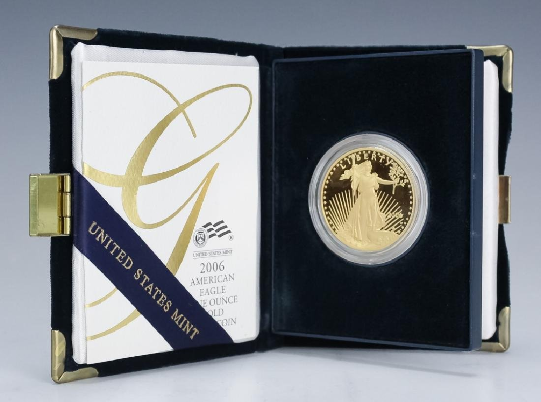 2006 1oz $50 Proof Gold American US Eagle Coin - 2