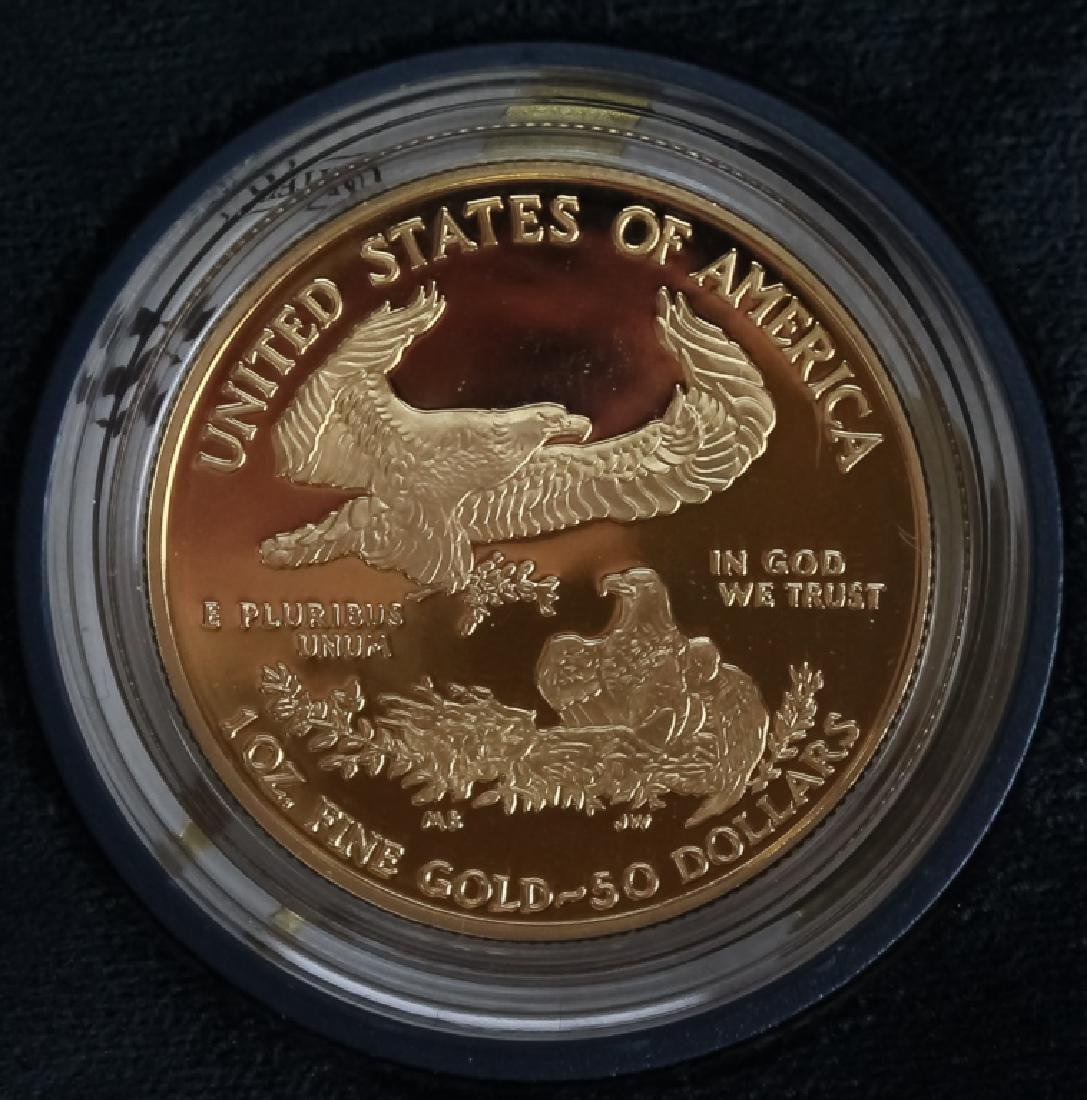 2006 1oz $50 Proof Gold American US Eagle Coin - 3