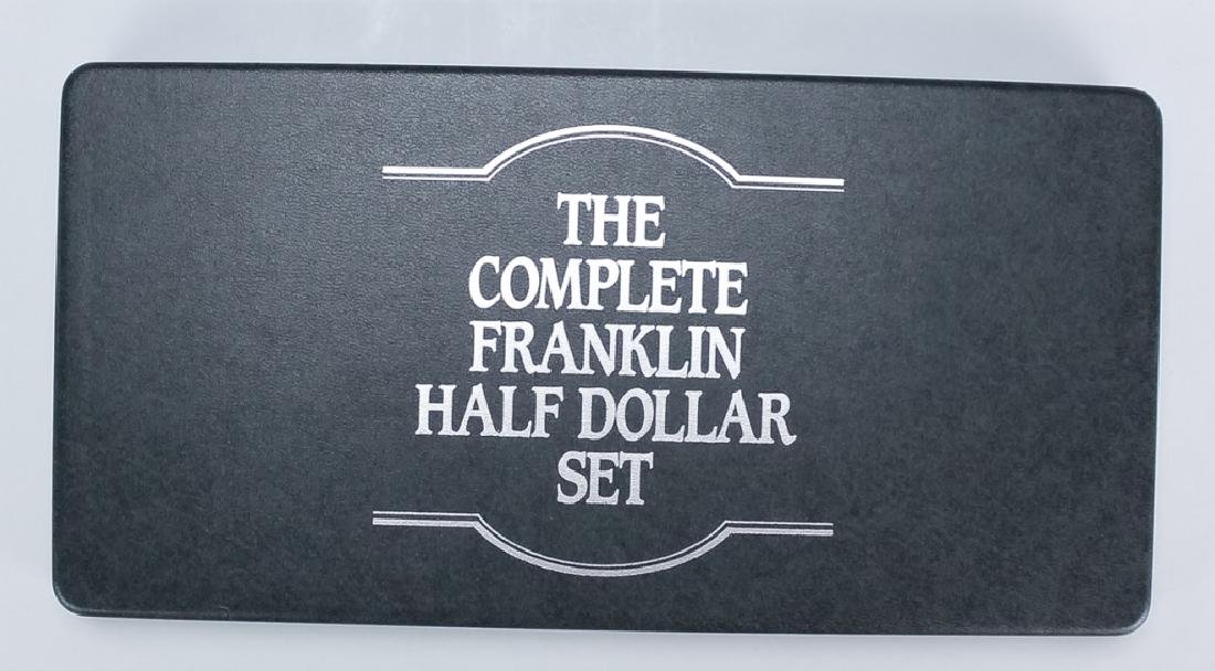 35 Piece Complete Franklin Silver Half Dollar Set - 5