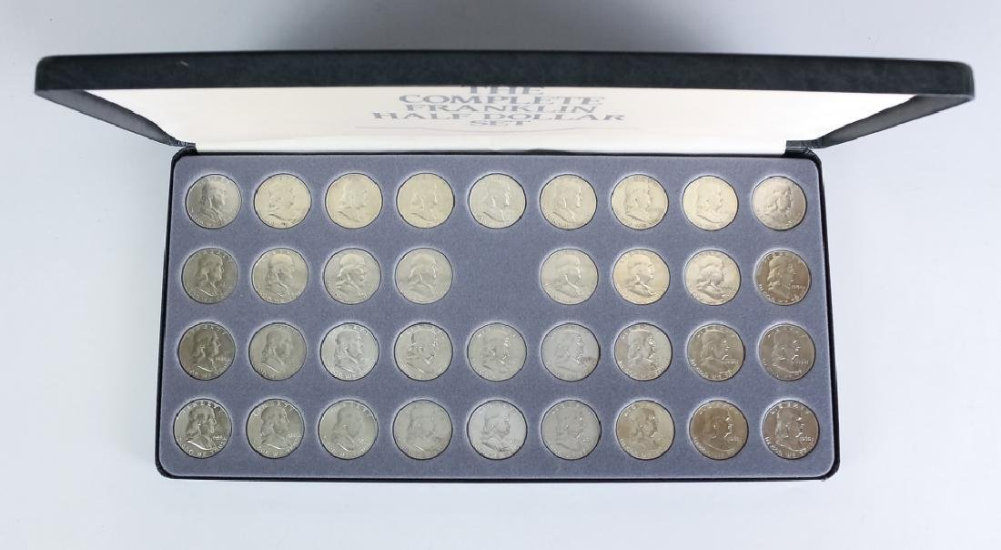 35 Piece Complete Franklin Silver Half Dollar Set - 6