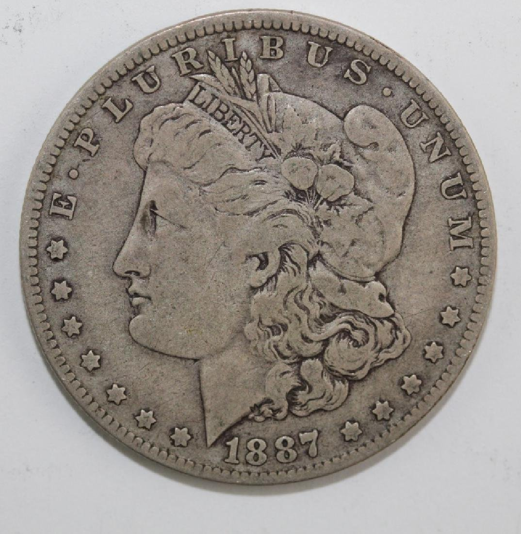 Lot 5 Morgan Silver $1 Dollars United States Coins - 3