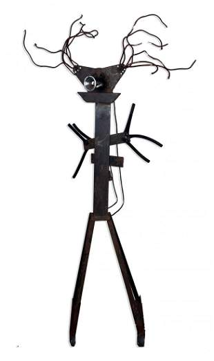 Eloise S Cooke 20th C Modernist Metal Sculpture