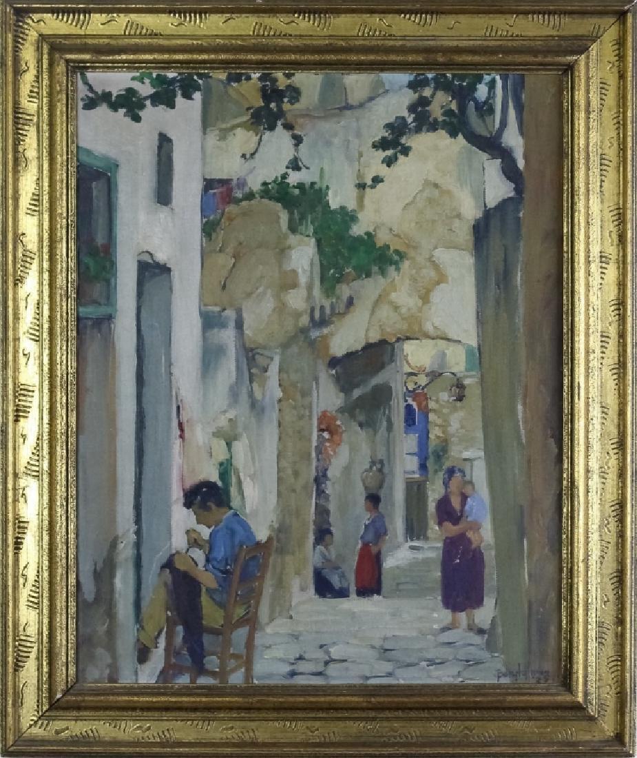 Belle Hoffman (1889-1961) American Oil Painting
