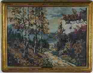 Modern Impressionist Landscape Oil Art Painting