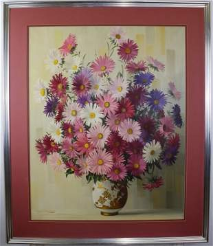 Elizabeth Rouviere American Still Life Painting