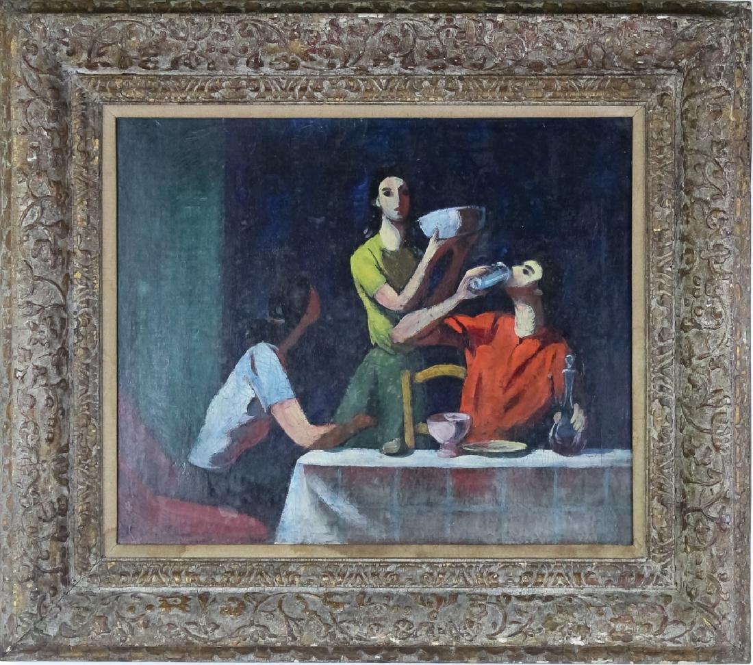 Felix Varda Varlamishvili (1903-1986) Oil Painting