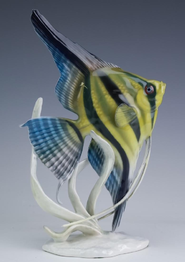 Rosenthal German Fine Porcelain Fish Angelfish