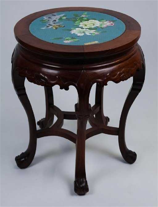 Amazing Chinese Export Cloisonne Plant Stand Garden Seat Gmtry Best Dining Table And Chair Ideas Images Gmtryco