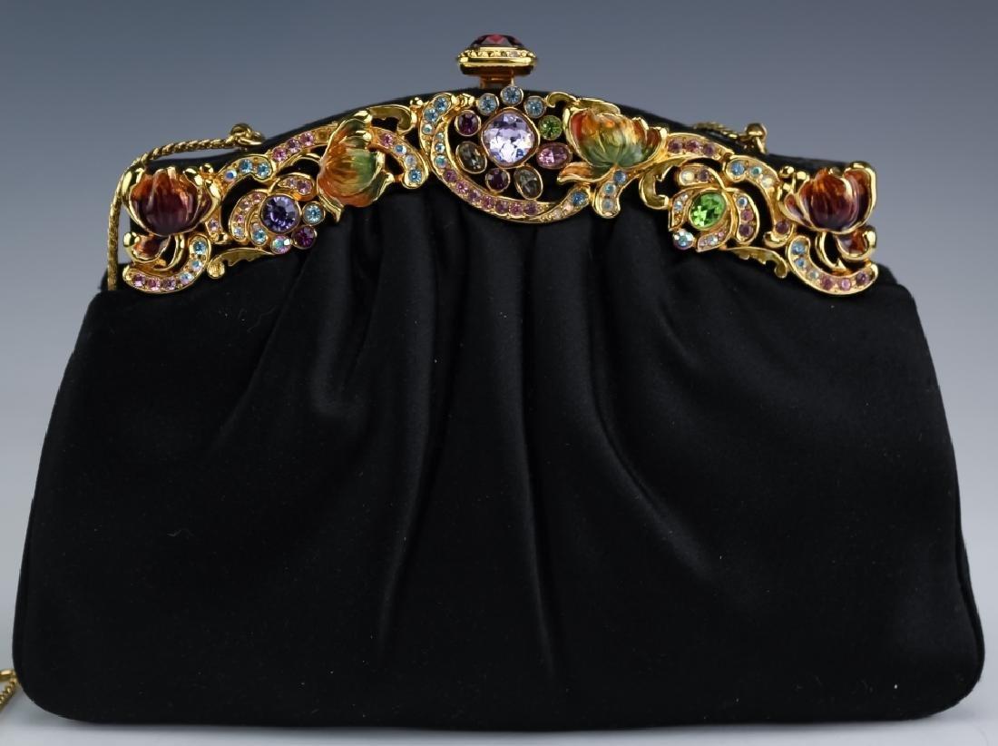 Judith Leiber Enamel & Swarovski Crystal Handbag