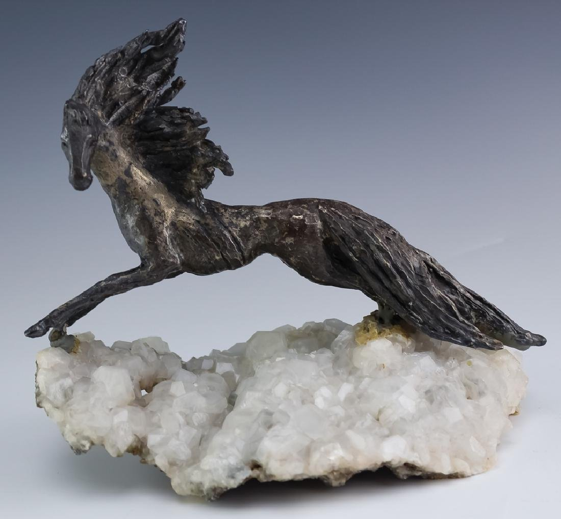 Peggy Reventlow Sterling Silver Horse Sculpture