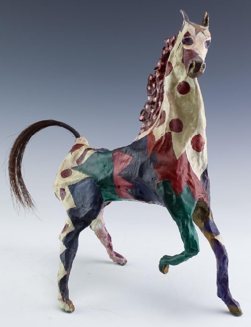 Susan Rowland b.1940 American Bronze Horse Sculpture