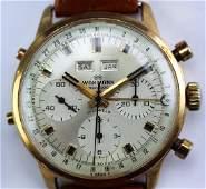 Wakmann Pre Breitling Day Date Chronograph Wrist Watch