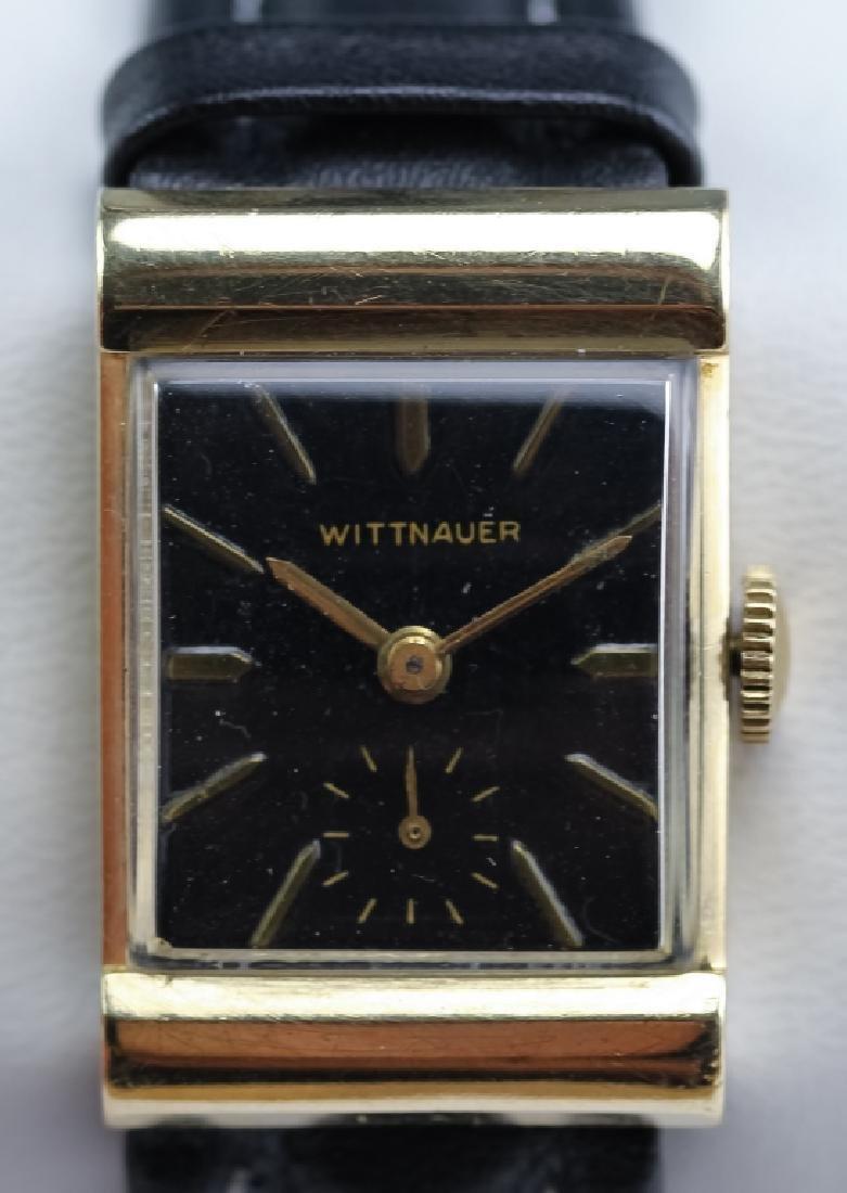 VTG Men's Wittnauer 14k Yellow Gold Wrist Watch