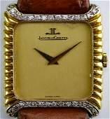 VTG Jaeger LeCoultre 18k & Diamond 9222.21 Watch