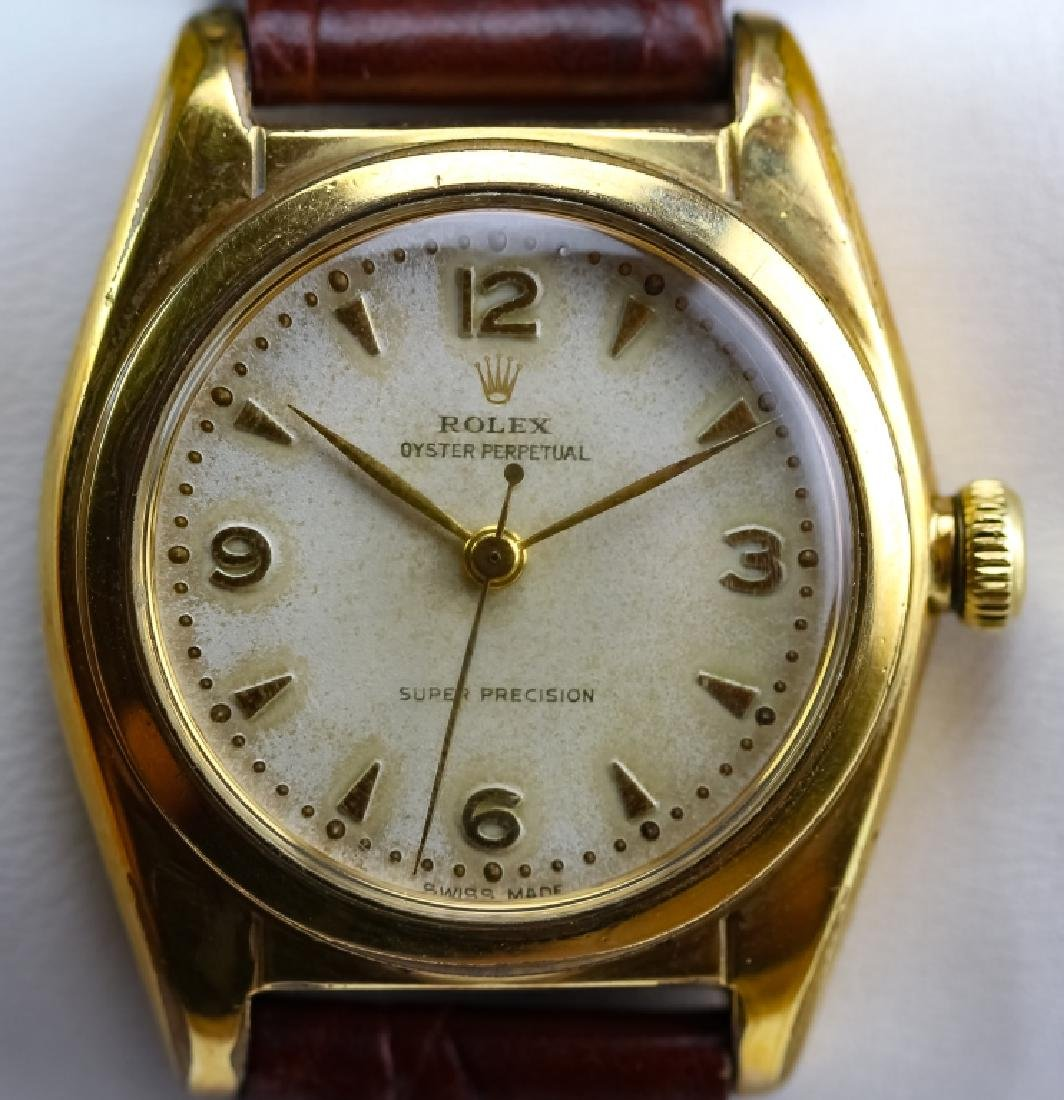 VTG Rolex Oyster Perpetual Super Precision Watch 1950